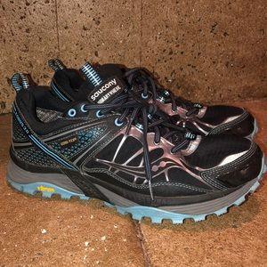 Saucony Xodus 3.0 Hiking Trail Shoes Vibram